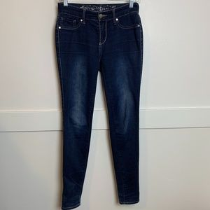Express Jeans Dark Wash Jeggings